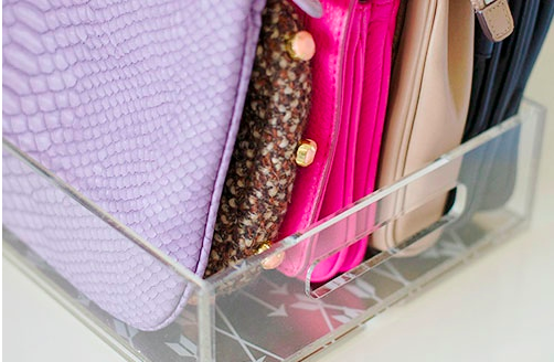 Clutch-organising-using-lucite-tray