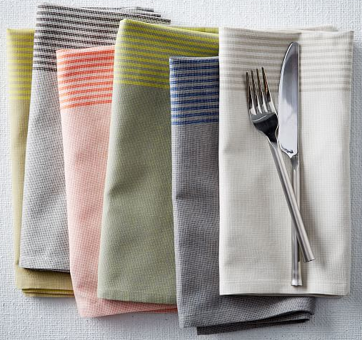 Border-Stripe-Napkin-West-Elm
