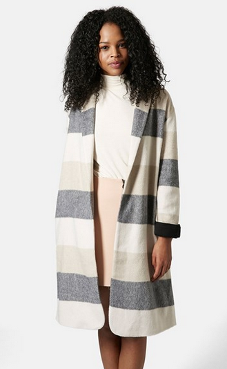 Topshop-Striped-Duster-Coat