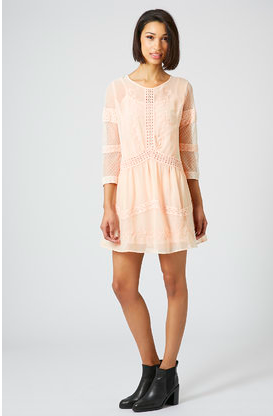 Topshop-crochet-trim-dress