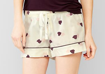 Gap-heart-sleep-shorts